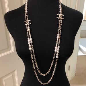 CHANEL Jewelry - Chanel Pre-Fall 2019 Double-Strand Long Necklace